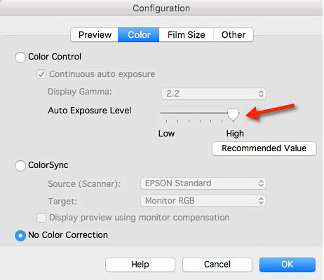 Update to Epson scanning article: how to bypass all tonal