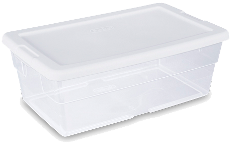 Storage Container Developing Trays
